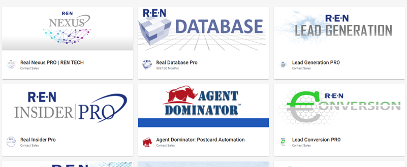 real estate agent lead products