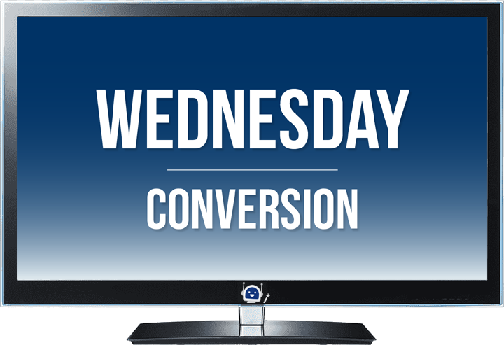 wednesday lead conversion